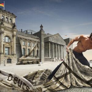 Motiv Reichstag von Uli Staiger, Plakat DIN A1